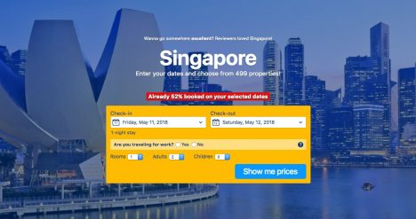 Why would I travel to Singapore Book a hotel in Singapore.