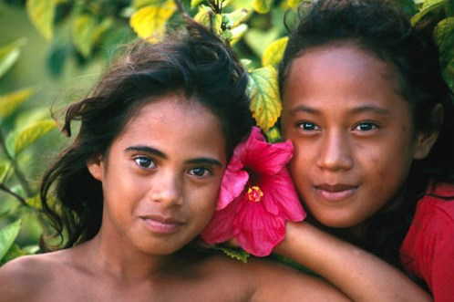 Top 10 Islands World Tahiti Typical Tahiti girls