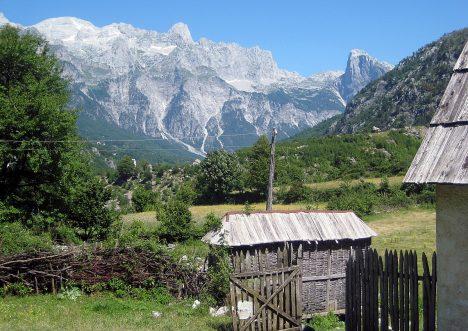 Tourism in Albania: Theth