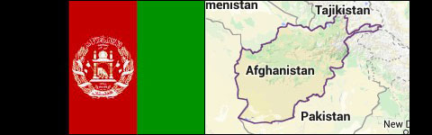Countries avoid Asia Afghanistan