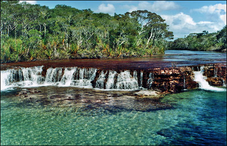 Cape York, Australia - Fruitbat Falls on Elliot River