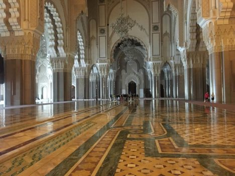 Disappointing travel destinations Casablanca Hassan-II-Mosque