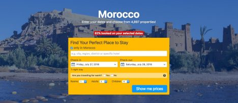 Click here to book accomodation in Morocco.