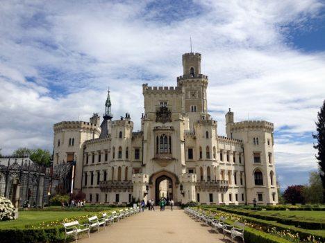 Underrated tourist spots Cesky Krumlov Castle