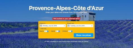 Underrated tourist spots Eze France cheapest accommodation