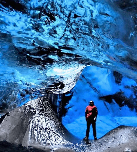 Ice Crystal Caves Iceland