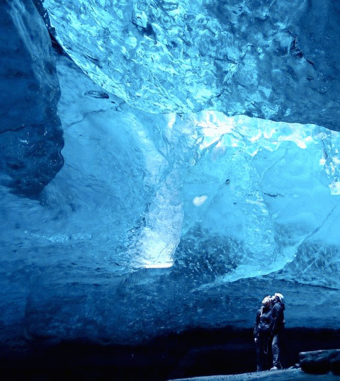 Caves Iceland