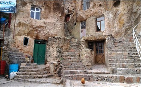 Kandovan is an architectual oddity