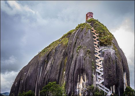 The Rock of Guatape - La Piedra Del Penol