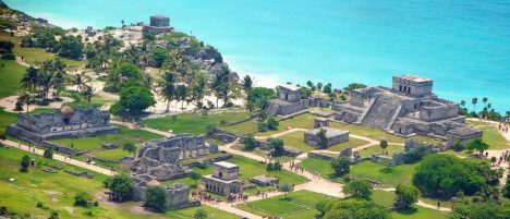 Mexicos Stereotype Tourist Photos Fortified City of Tulum