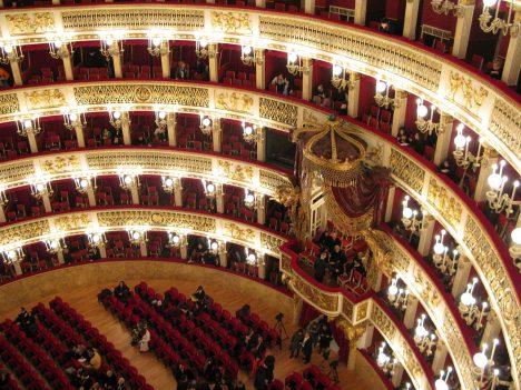 Disappointing travel destination Naples Italy Theatro San Carlo
