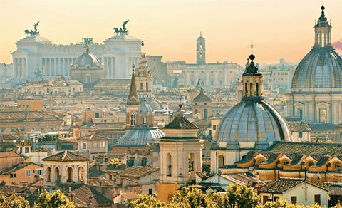 Top 10 cities year Rome