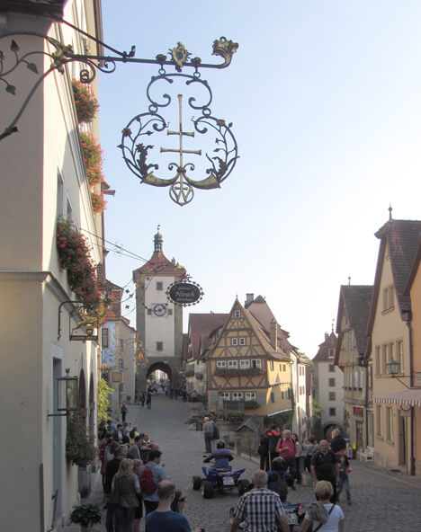 Top 10 Tourist Hot Spots Germany Rothenburg Tauber