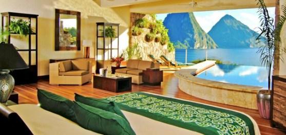 Top 10 Islands World St Lucia Jade Mountain Resort
