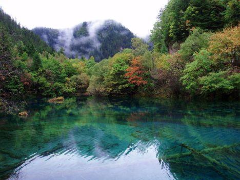 China Hidden Tourist Spots Jiuzhaigou Valley