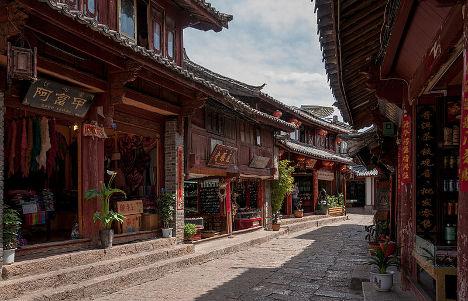 China Hidden Tourist Spots Lijiang old town