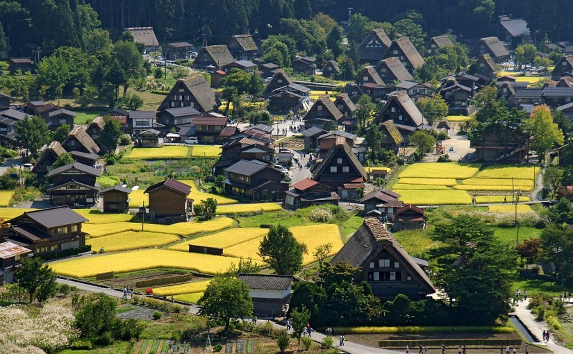 Underrated Tourist Spots – Shirakawa-Go, Japan