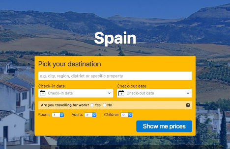 Spain pick a destination here