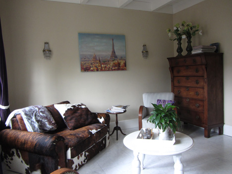 B&B Stadslogement Oudewater livingroom