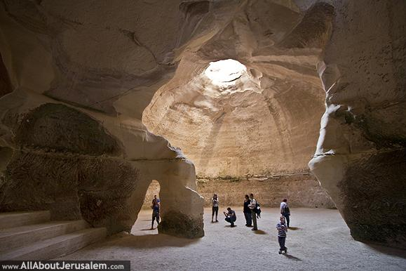 Bells Cave Beit Guvrin National Park Israel