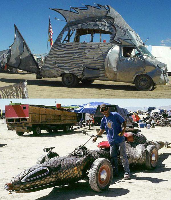 'Self-expression 2.0' at the Burning Man.