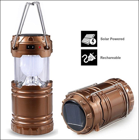 Camping Headlamps Flashlights Torches Camping lantern solar and rechargeable