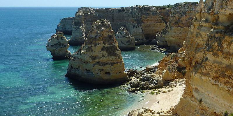 Cheapest expensive Beaches Europe algarve portugal
