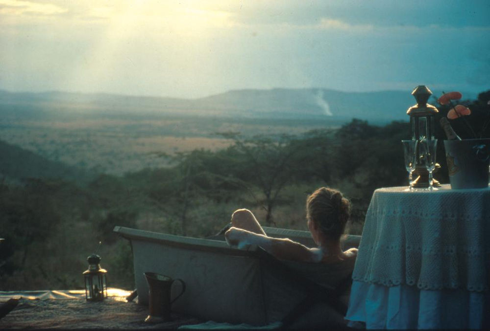 Sunset at Cottars 1920s Camp