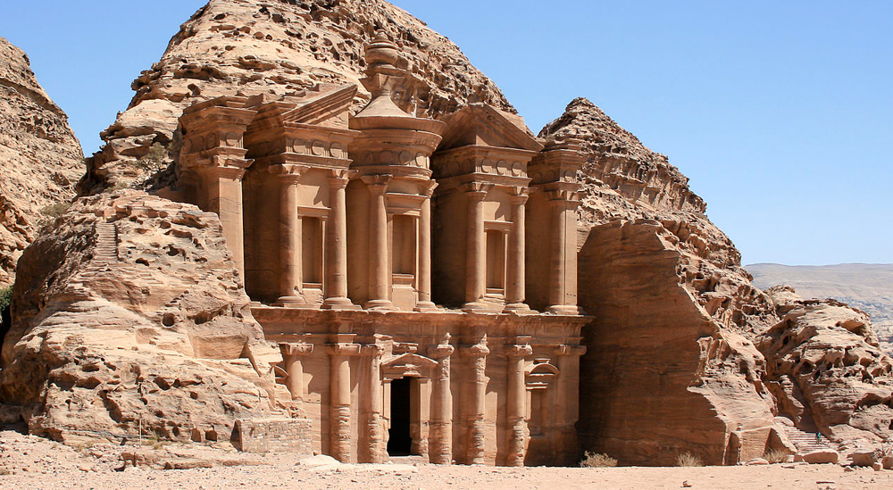 Disappointing travel destination Petra Jordan