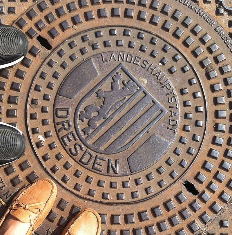Dresden manhole