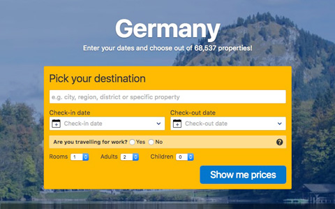 germany booking com