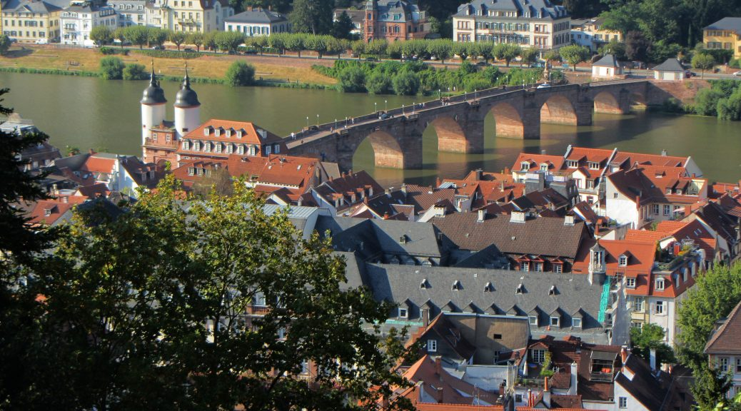 heidelberg bridge germany