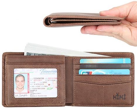 RFID protected wallet HIMI