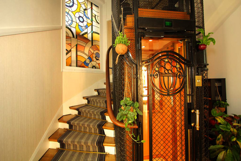 Hotel Virgina Paris | The elevator is a thing of beauty!