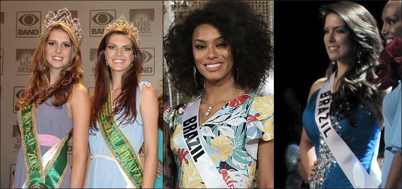 Miss Brazil Country with most beautiful women