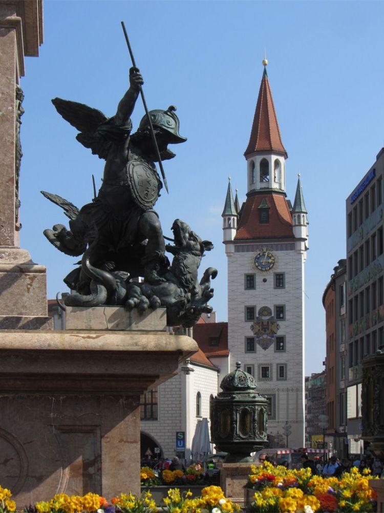 Things we did in Munich Marienplatz