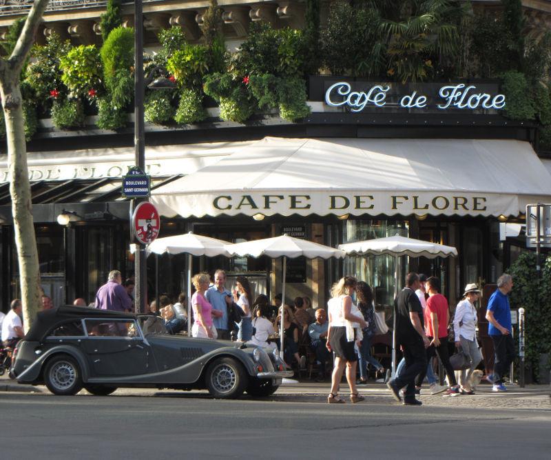 Paris 50 minutes Cafe de Flores
