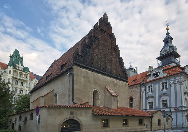 Prague oldest Synagoge  Europe