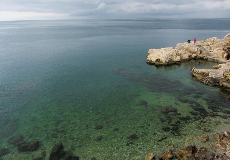 Rovinj coastline. Bring your swimsuit