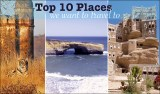 top ten places we want to travel to