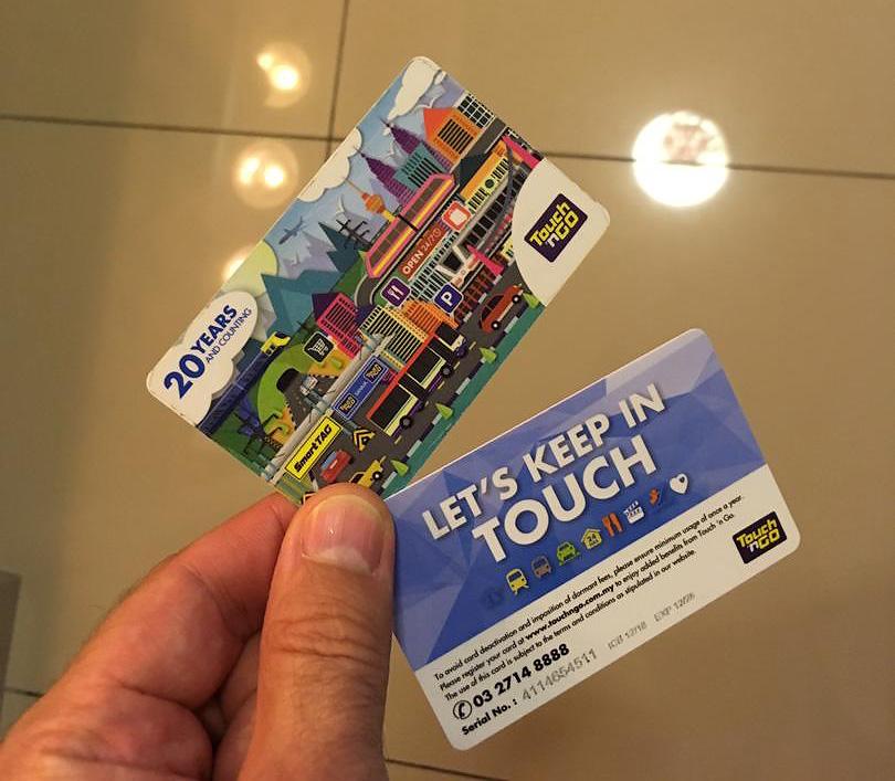 touch-n-go card Kuala Lumpur