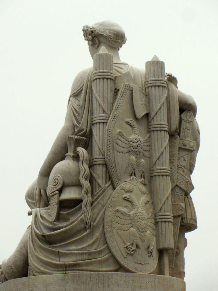 Statue of Peace Piazza del Liberta Udine