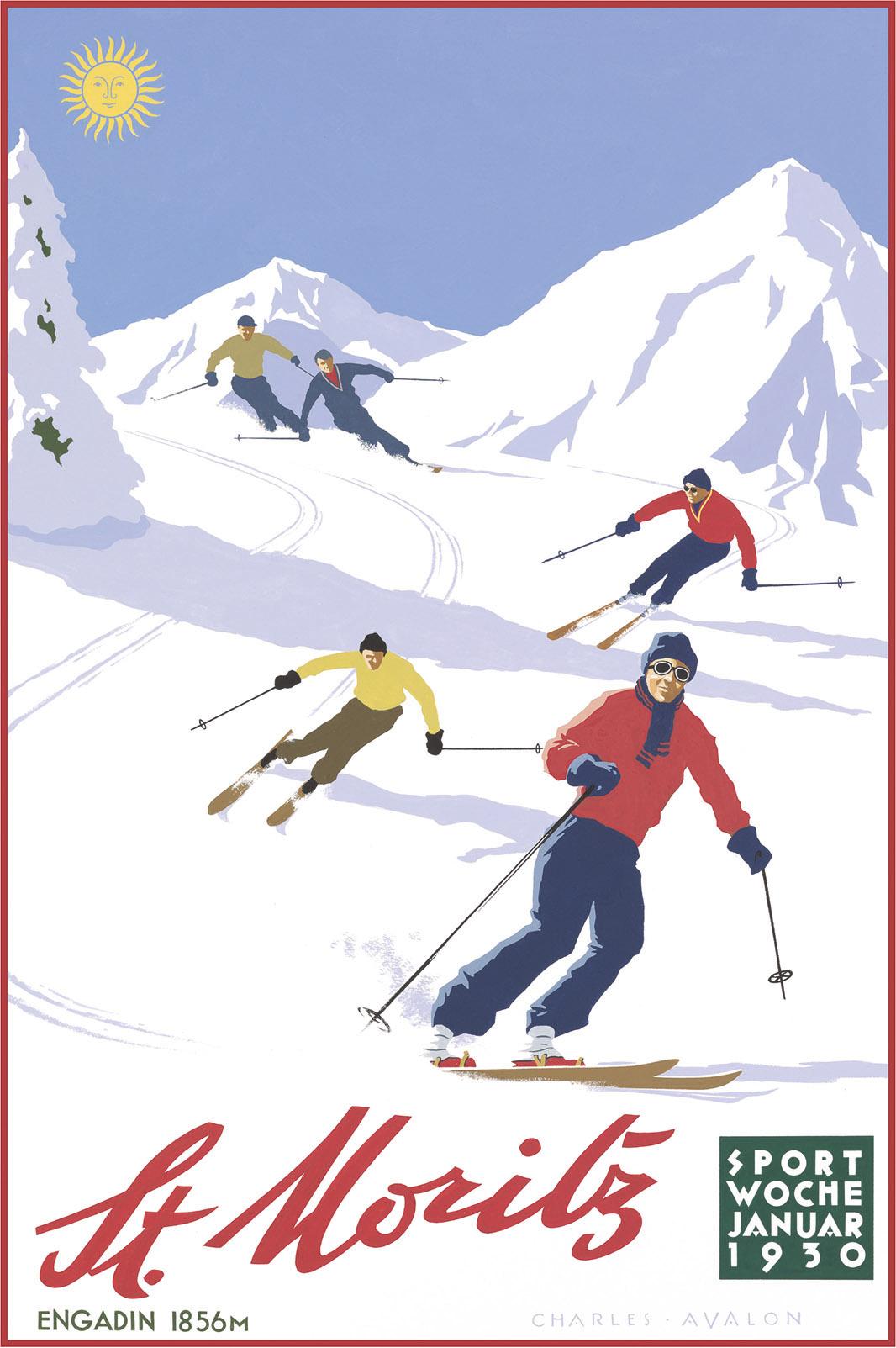 Beginning Winter Tourism 1860