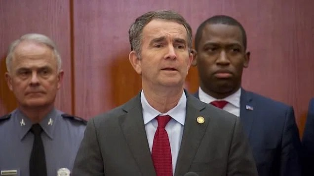 23449724 0 image a 30 1579123924980 The Governor of Virginia Ralph Northam has declared a state of emergency and has declared a ban on guns in a push that is having a major blowback