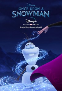 once upon a snowman olaf frozen