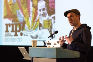 Brett Gaylor (Mozilla) speaking at i-Docs 2012