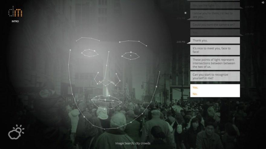 Screenshot from 'Digital Me'
