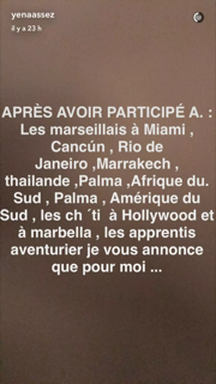 #LMSA : Julien Tanti annonce arrêter la télé-réalité !