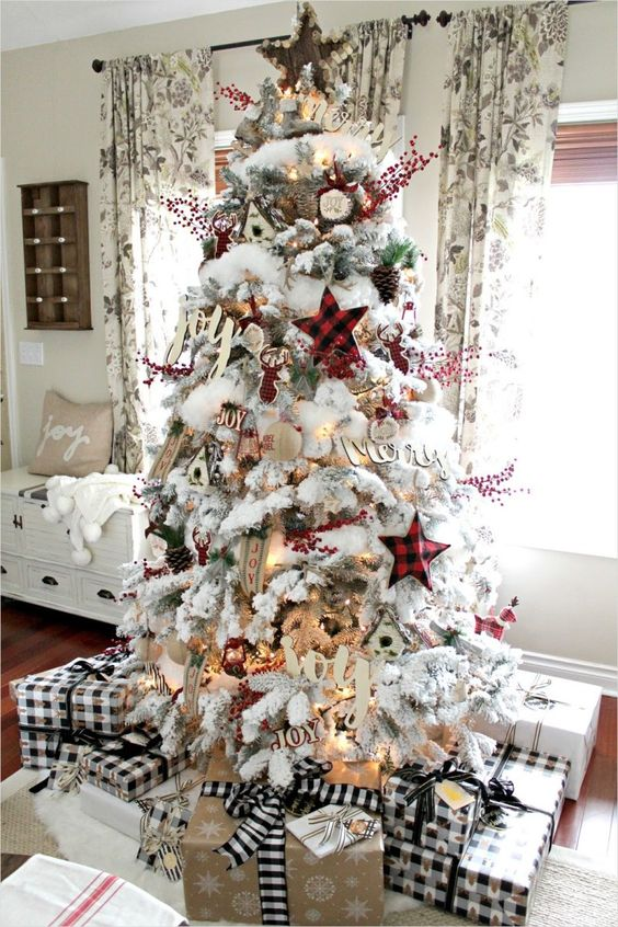 Farmhouse Christmas Decor 12 Nesting Blissfully A Very Farmhouse Christmas Home tour 8