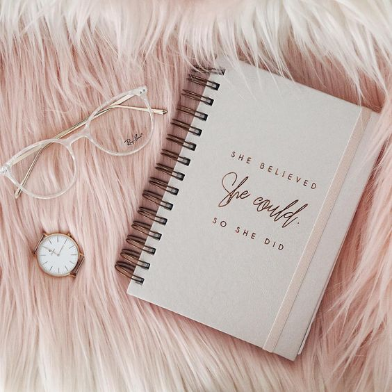 She believed SHE COULD. So she did ✨ o planner mais lindo. @vipapier  Ph: @maysabarros__